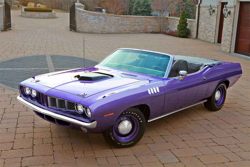 1971 Plymouth Cuda Convertible