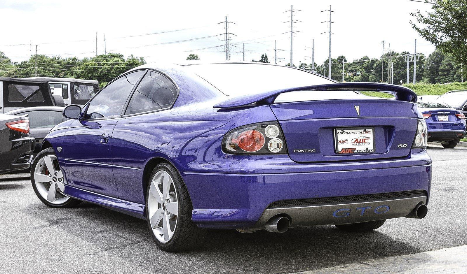 2006 Pontiac GTO (cosmos purple)