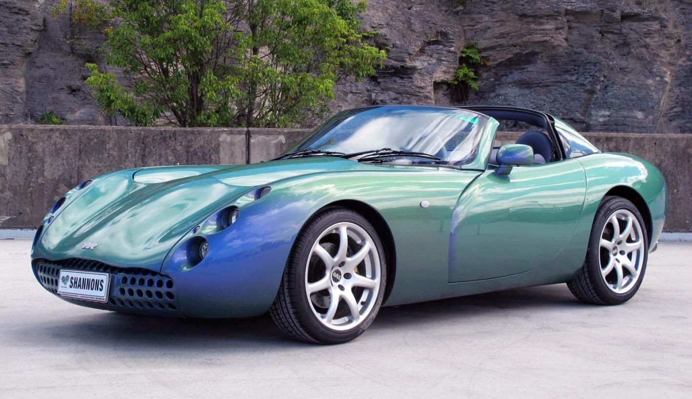 1999 TVR Tuscan (chameleon blue)