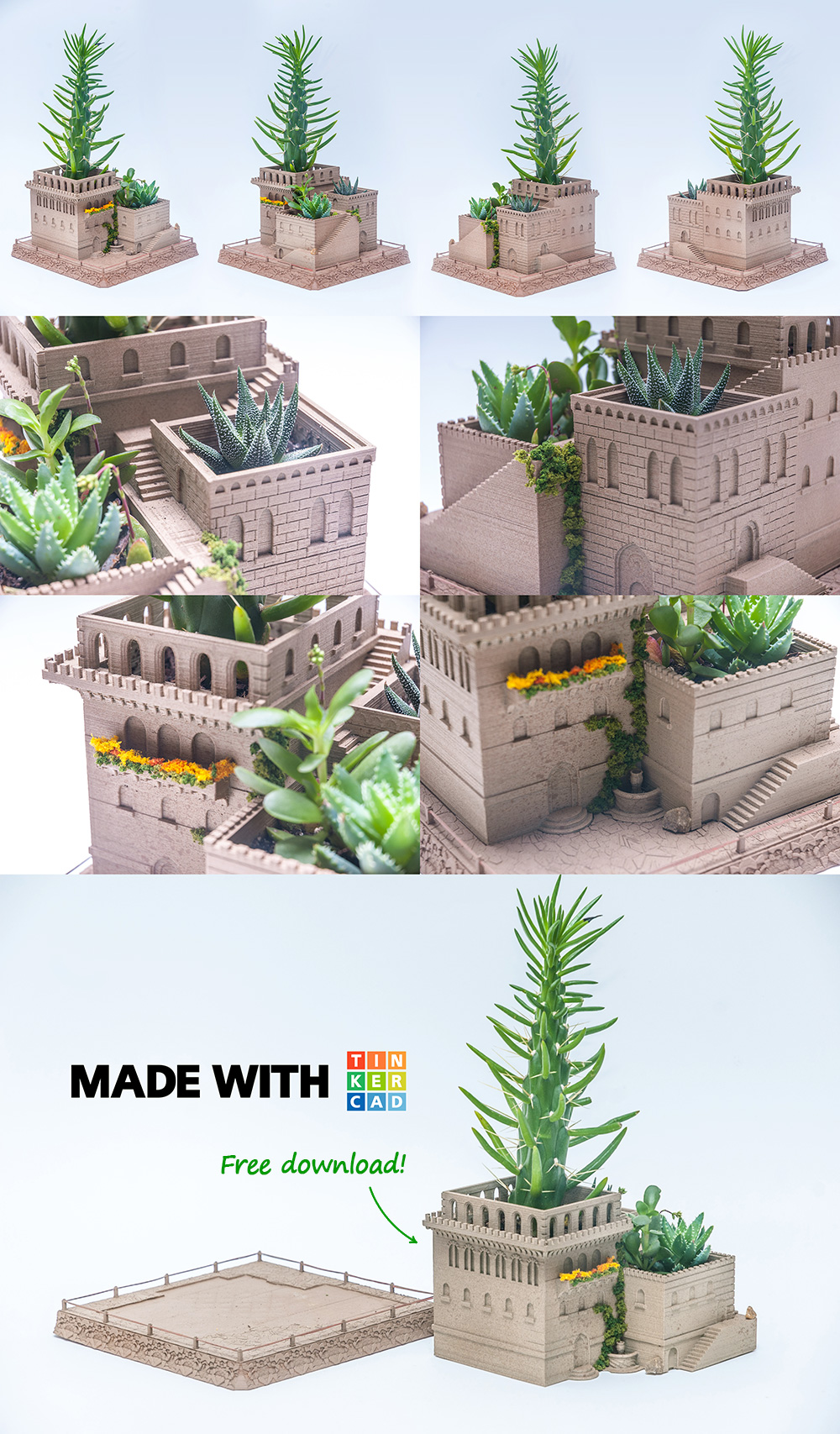 Mini Planter Series: Middle Eastern Villas / Yuriy Sklyar