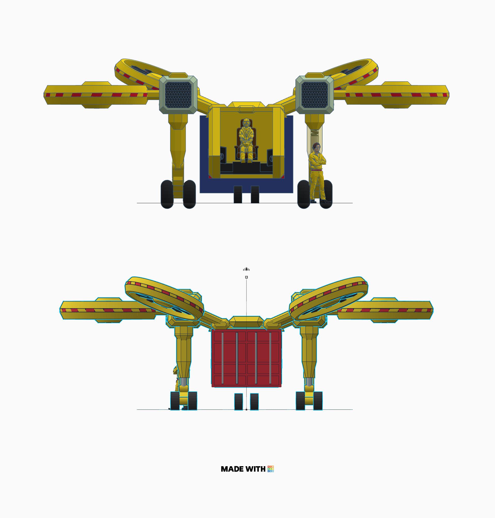multi purpose octocopter mpo 2 cargo transporter yuriy. Black Bedroom Furniture Sets. Home Design Ideas